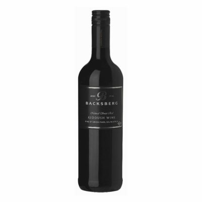 Backsberg Kiddush Sweet Red