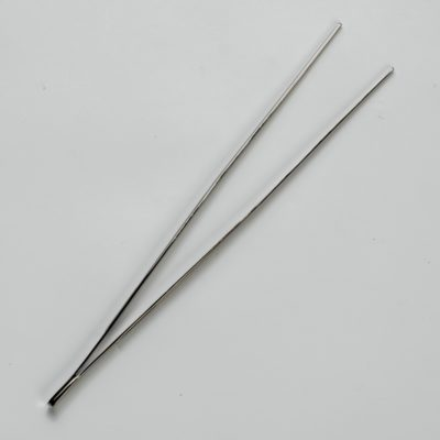 Gun-metal Plated Tweezers 30cm